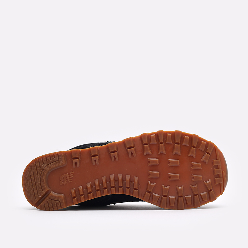 мужские чёрные  кроссовки new balance 574 ML574XAB/D - цена, описание, фото 5