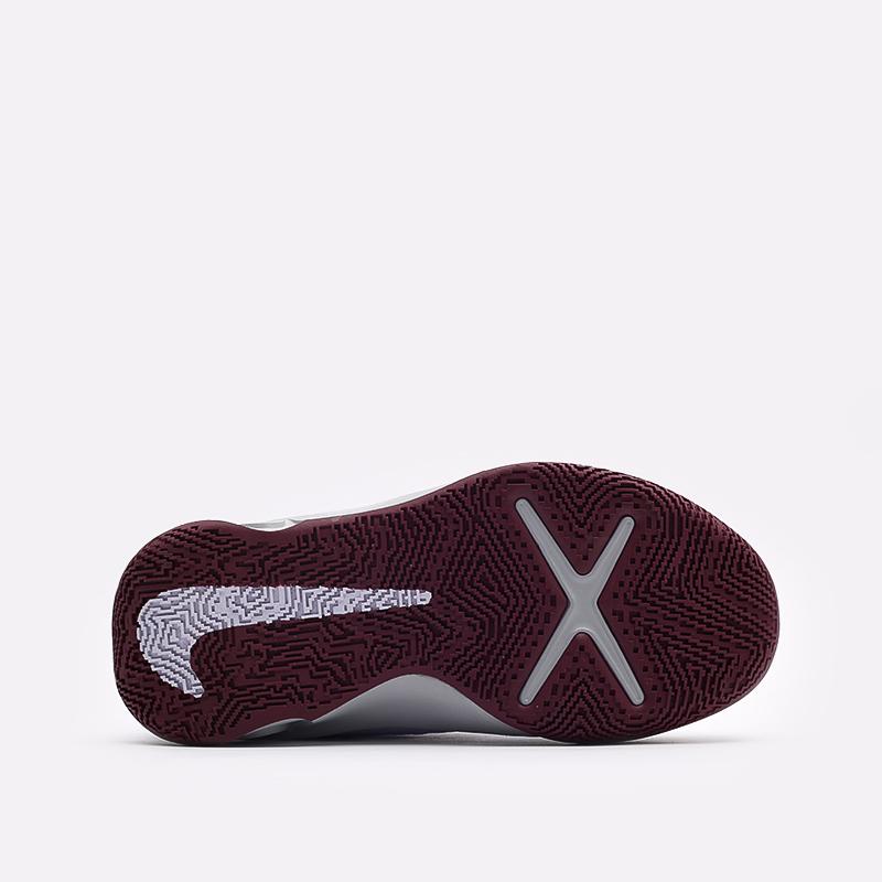 женские серые  кроссовки nike team hustle d 10 CW6735-007 - цена, описание, фото 5