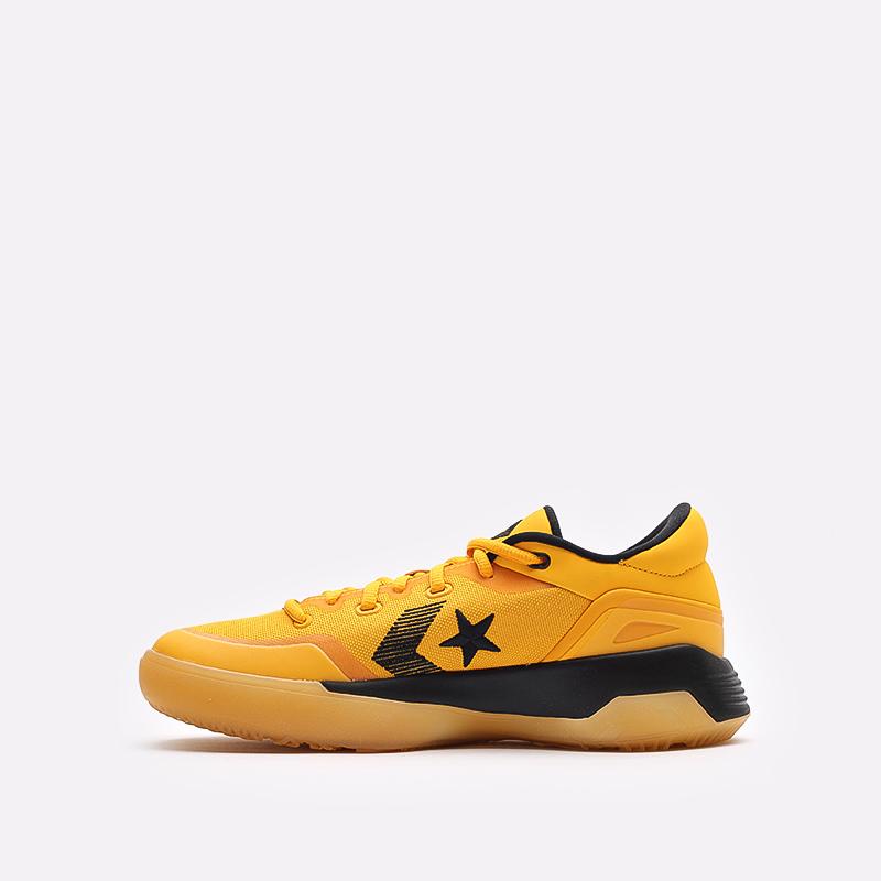 мужские желтые  кроссовки converse g4 ox 170909 - цена, описание, фото 2
