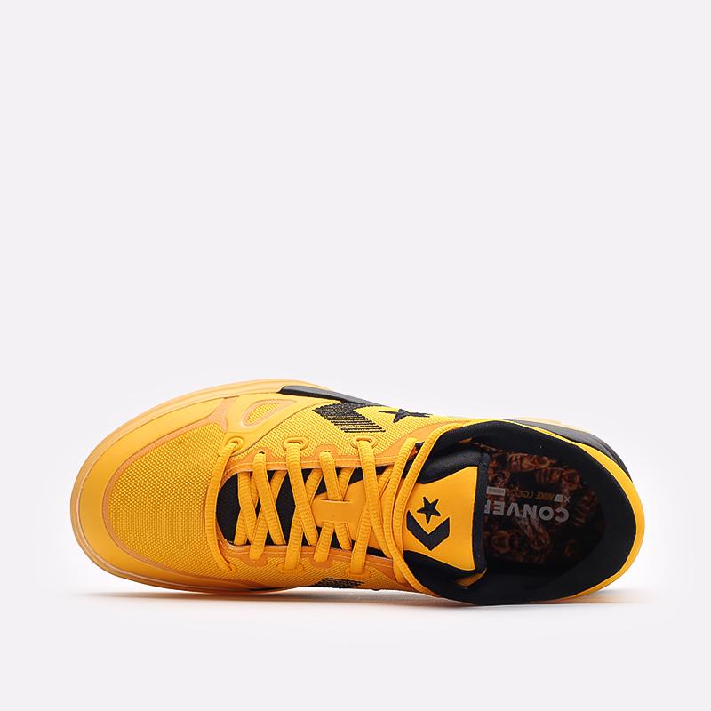мужские желтые  кроссовки converse g4 ox 170909 - цена, описание, фото 6