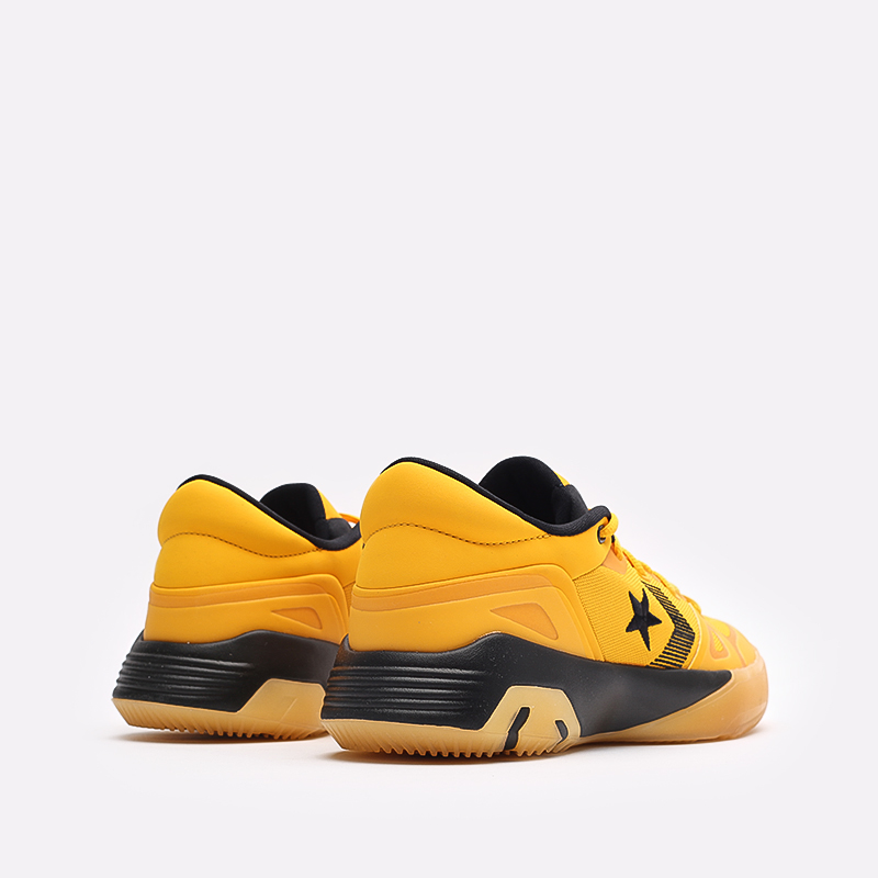 мужские желтые  кроссовки converse g4 ox 170909 - цена, описание, фото 3