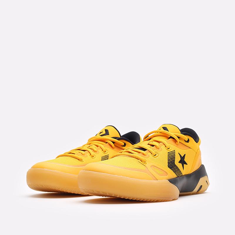 мужские желтые  кроссовки converse g4 ox 170909 - цена, описание, фото 4