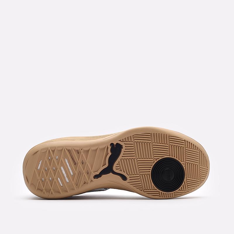мужские белые  кроссовки puma clyde all-pro kuzma 19483501 - цена, описание, фото 5