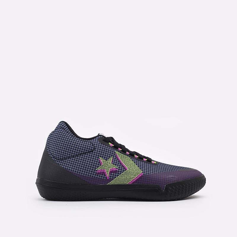 мужские синие  кроссовки converse all star bb evo mo 170763 - цена, описание, фото 1