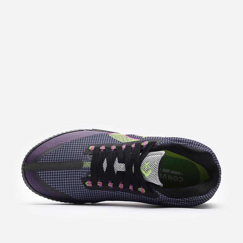 мужские синие  кроссовки converse all star bb evo mo 170763 - цена, описание, фото 6