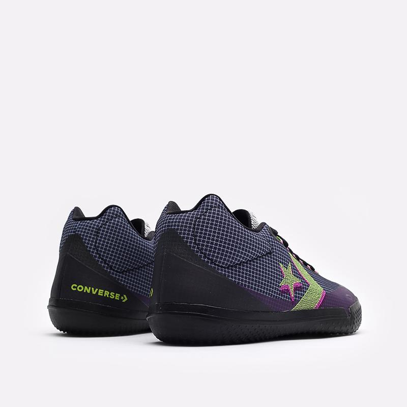 мужские синие  кроссовки converse all star bb evo mo 170763 - цена, описание, фото 3