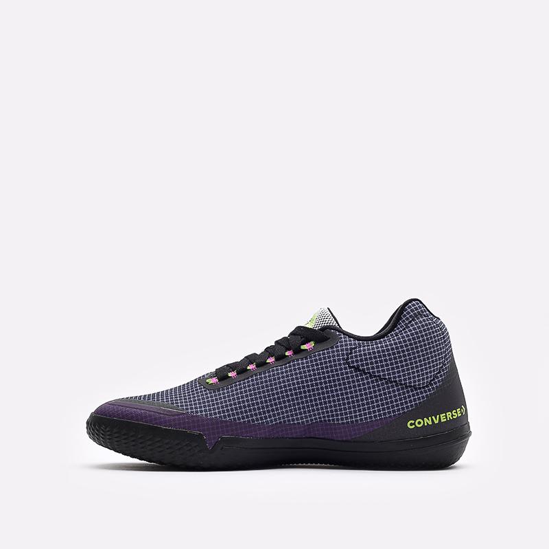 мужские синие  кроссовки converse all star bb evo mo 170763 - цена, описание, фото 2
