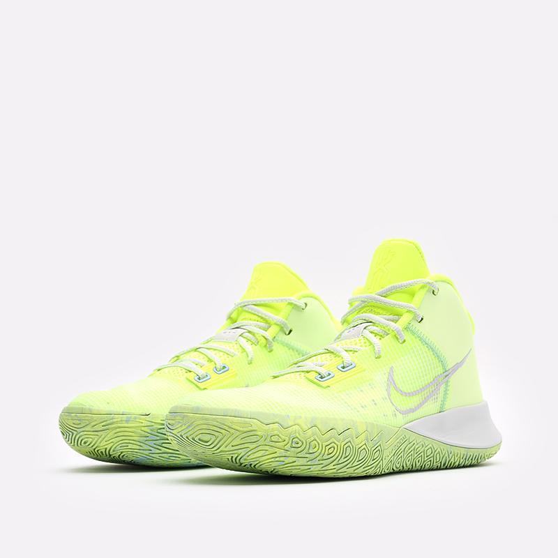 жёлтые  кроссовки nike kyrie flytrap iv CT1972-700 - цена, описание, фото 4