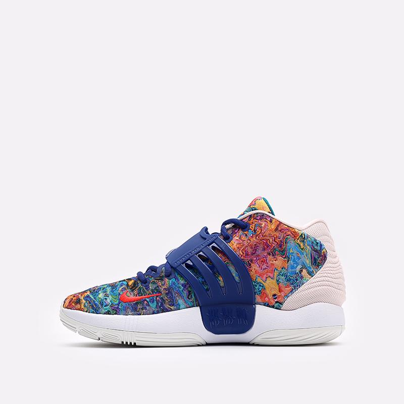 разноцветные  кроссовки nike kd14 CW3935-400 - цена, описание, фото 2
