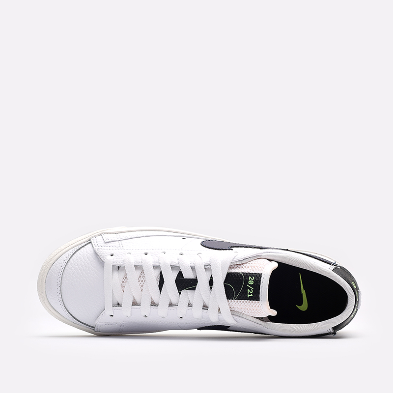 мужские белые  кроссовки nike blazer low '77 DJ6895-100 - цена, описание, фото 6