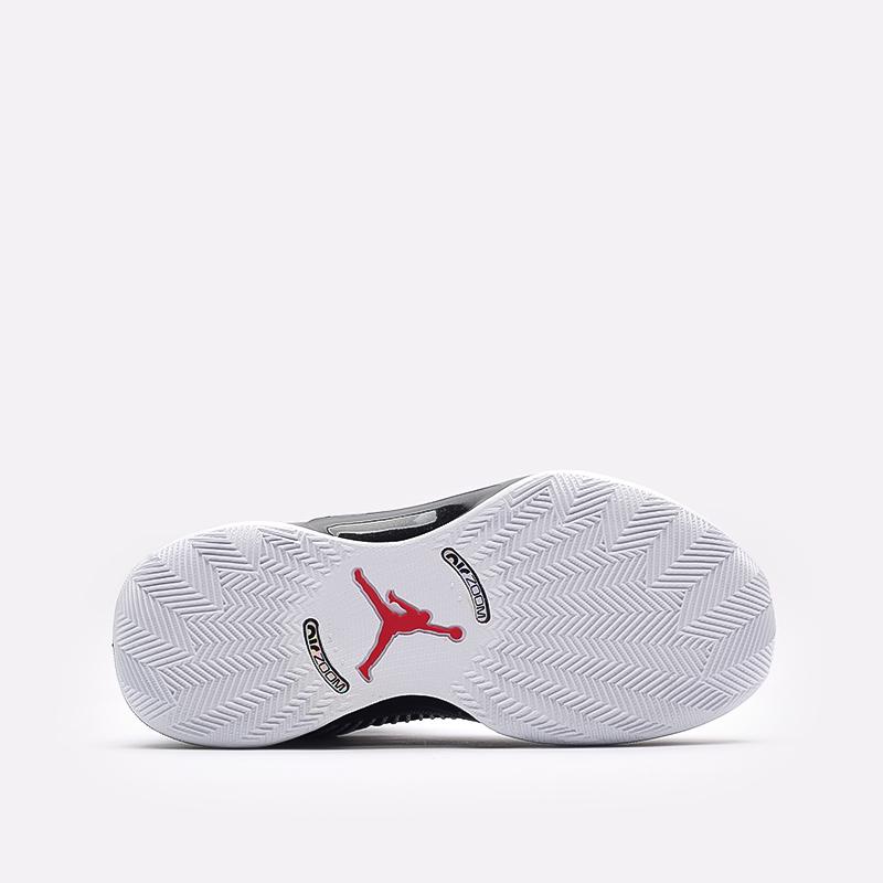 мужские белые, чёрные  кроссовки jordan xxxv low CW2460-101 - цена, описание, фото 5