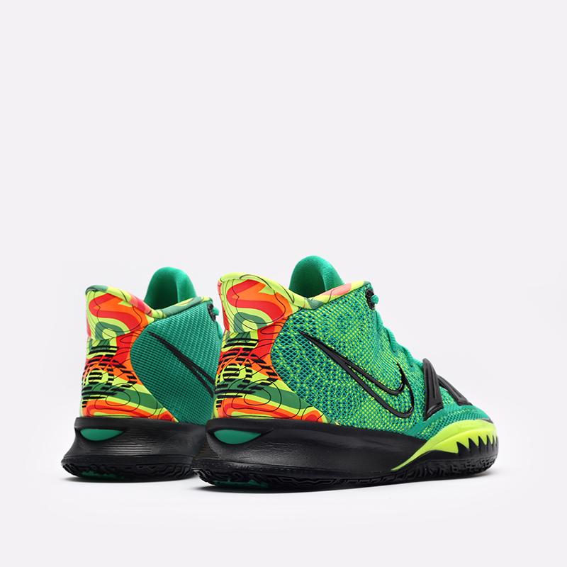 зелёные  кроссовки nike kyrie 7 CQ9326-300 - цена, описание, фото 3