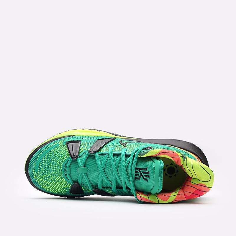 зелёные  кроссовки nike kyrie 7 CQ9326-300 - цена, описание, фото 6