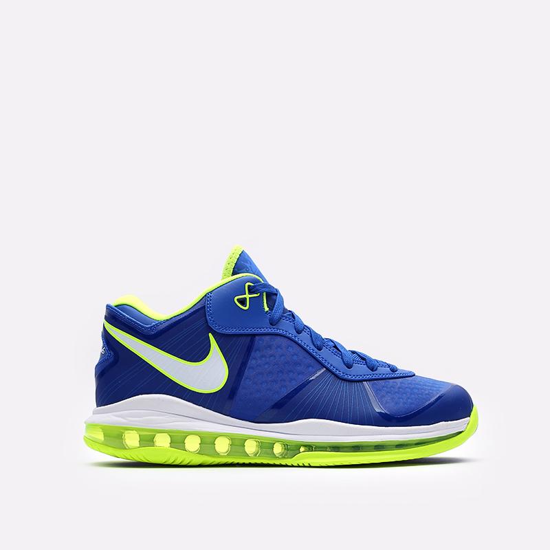 мужские синие  кроссовки nike lebron viii v/2 low qs DN1581-400 - цена, описание, фото 1