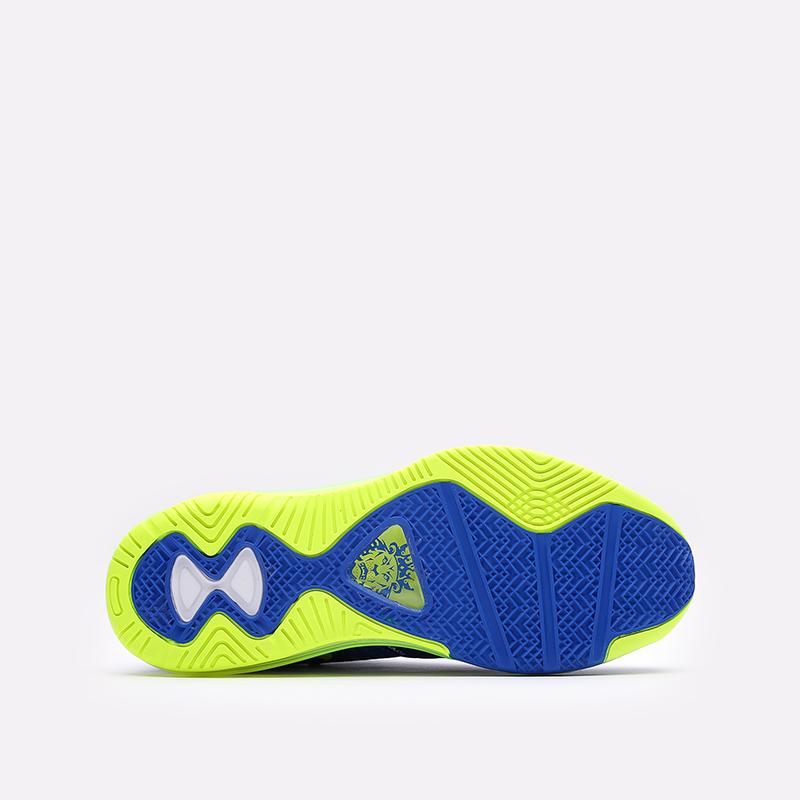 мужские синие  кроссовки nike lebron viii v/2 low qs DN1581-400 - цена, описание, фото 5