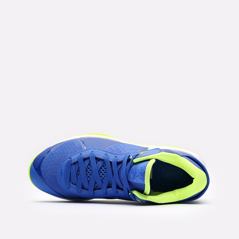 мужские синие  кроссовки nike lebron viii v/2 low qs DN1581-400 - цена, описание, фото 6