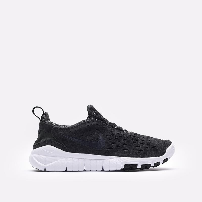 мужские чёрные  кроссовки nike free run trail CW5814-001 - цена, описание, фото 1