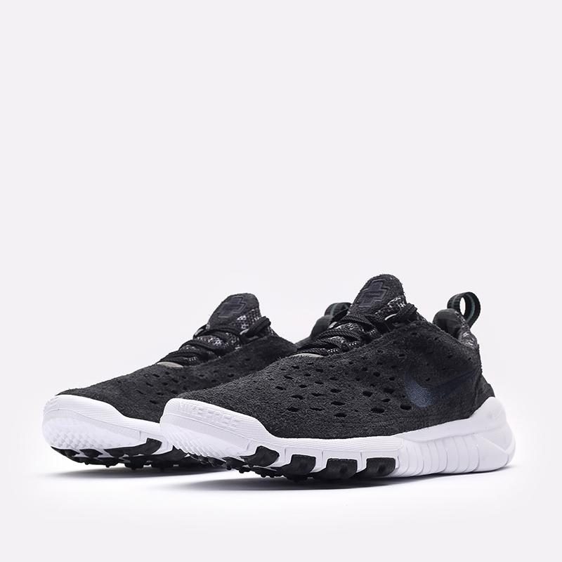 мужские чёрные  кроссовки nike free run trail CW5814-001 - цена, описание, фото 4