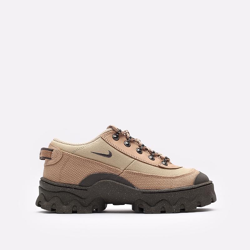 женские бежевые  кроссовки nike wmns lahar low DD0060-200 - цена, описание, фото 1