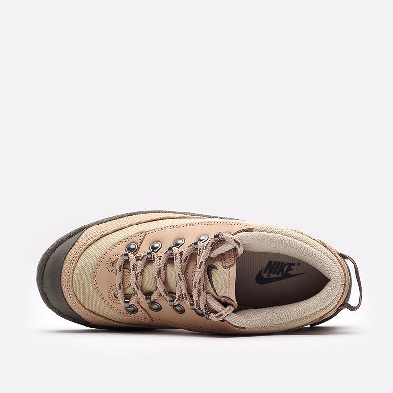 женские бежевые  кроссовки nike wmns lahar low DD0060-200 - цена, описание, фото 6