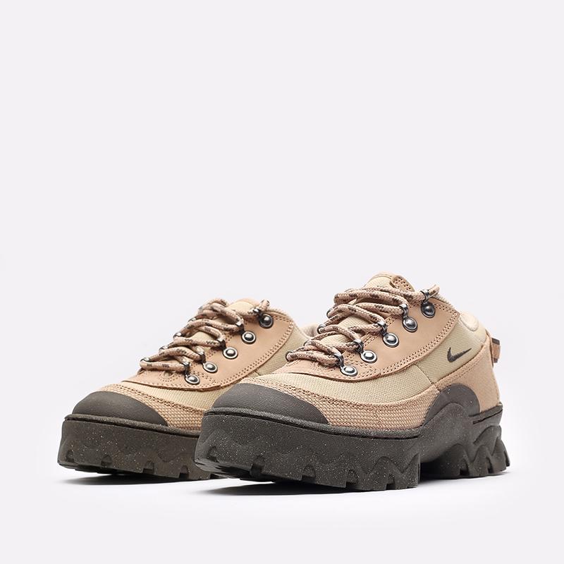 женские бежевые  кроссовки nike wmns lahar low DD0060-200 - цена, описание, фото 4