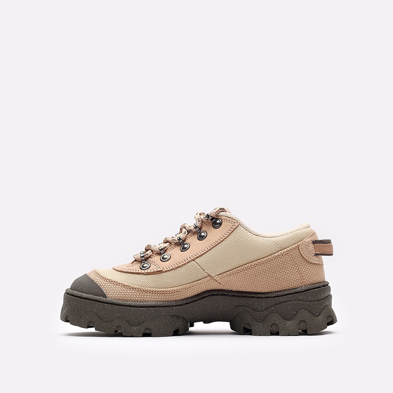 женские бежевые  кроссовки nike wmns lahar low DD0060-200 - цена, описание, фото 2