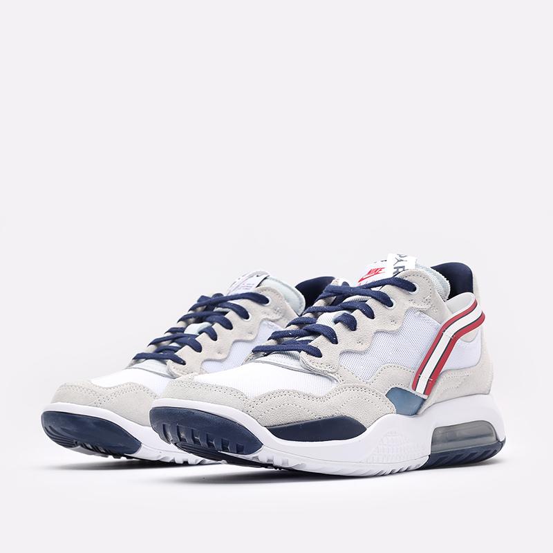мужские белые  кроссовки jordan ma2 psg DJ2657-104 - цена, описание, фото 4