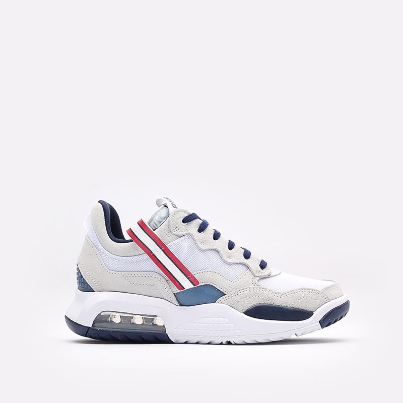 мужские белые  кроссовки jordan ma2 psg DJ2657-104 - цена, описание, фото 1