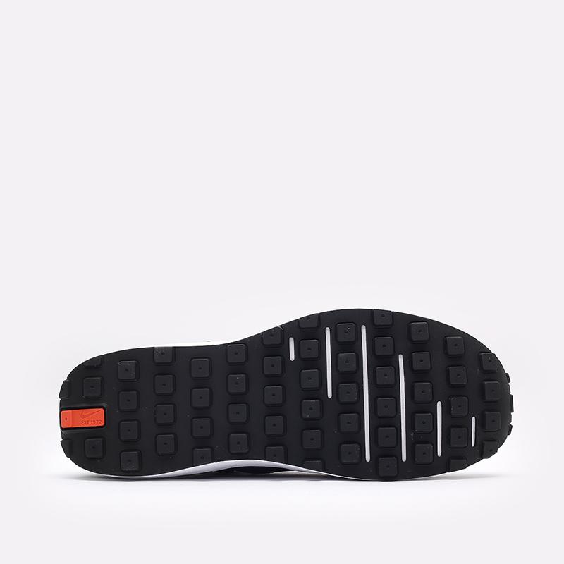 мужские чёрные  кроссовки nike waffle one DA7995-001 - цена, описание, фото 5