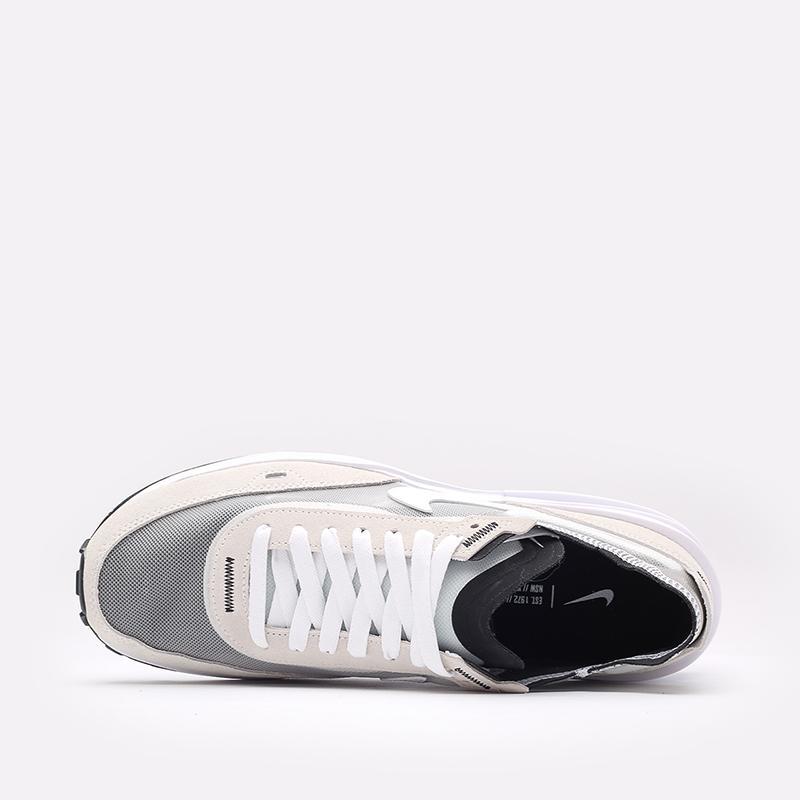 мужские белые  кроссовки nike waffle one DA7995-100 - цена, описание, фото 6