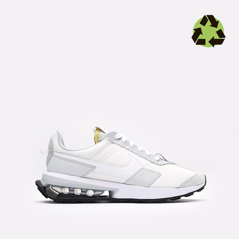 мужские белые  кроссовки nike air max pre-day DA4263-100 - цена, описание, фото 1