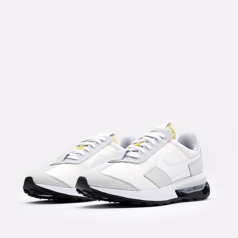 мужские белые  кроссовки nike air max pre-day DA4263-100 - цена, описание, фото 4