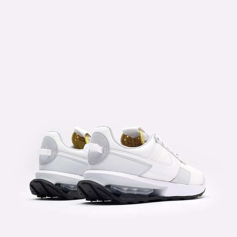 мужские белые  кроссовки nike air max pre-day DA4263-100 - цена, описание, фото 3
