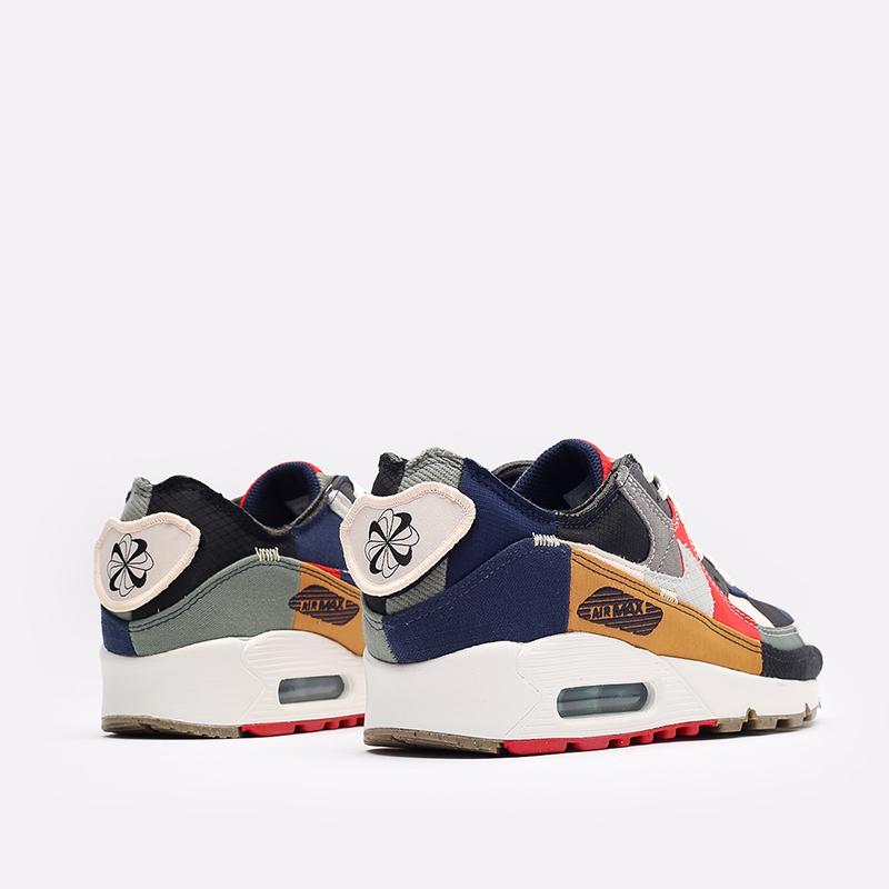 женские разноцветные кроссовки Nike WMNS Air Max 90 QS DJ4878-400 - цена, описание, фото 3