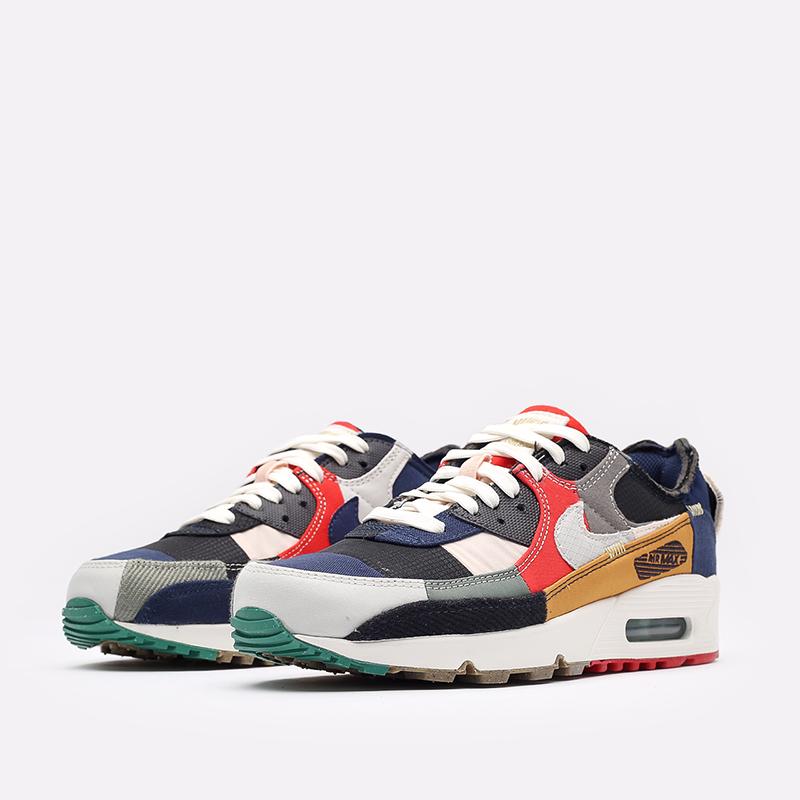 женские разноцветные кроссовки Nike WMNS Air Max 90 QS DJ4878-400 - цена, описание, фото 4