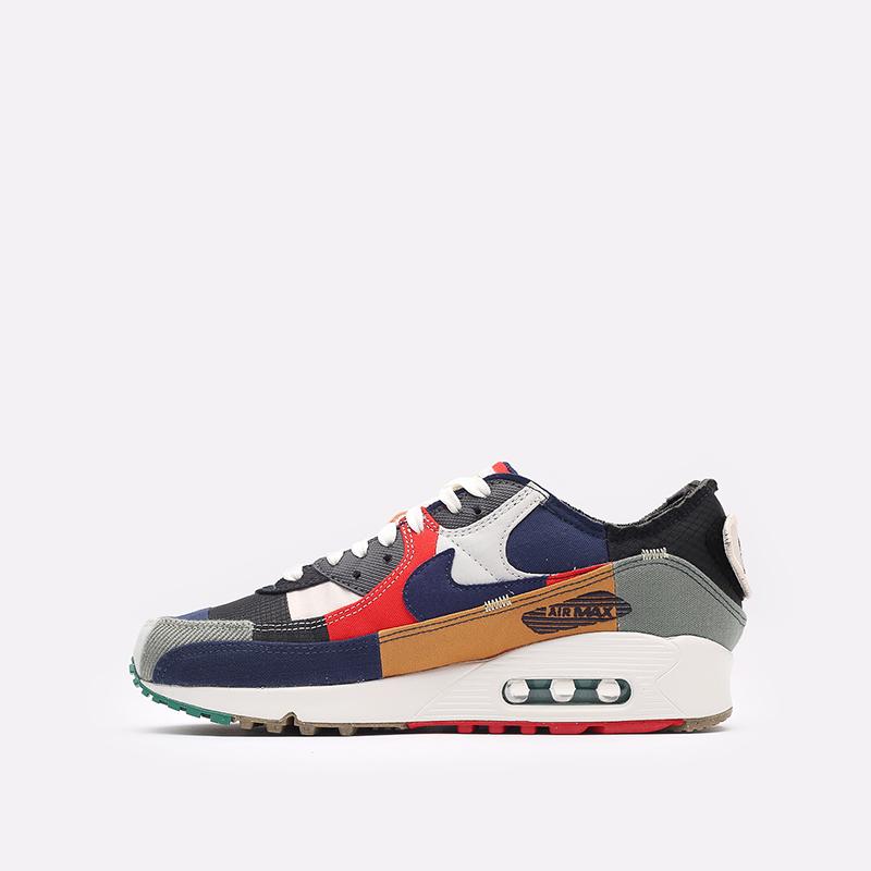 женские разноцветные кроссовки Nike WMNS Air Max 90 QS DJ4878-400 - цена, описание, фото 2