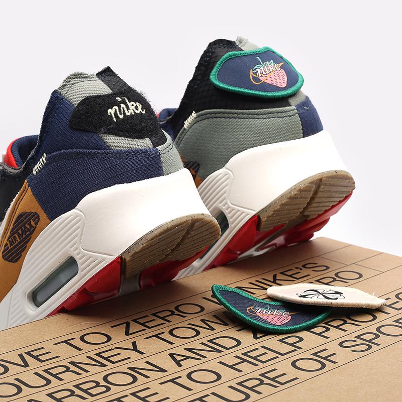 женские разноцветные кроссовки Nike WMNS Air Max 90 QS DJ4878-400 - цена, описание, фото 7