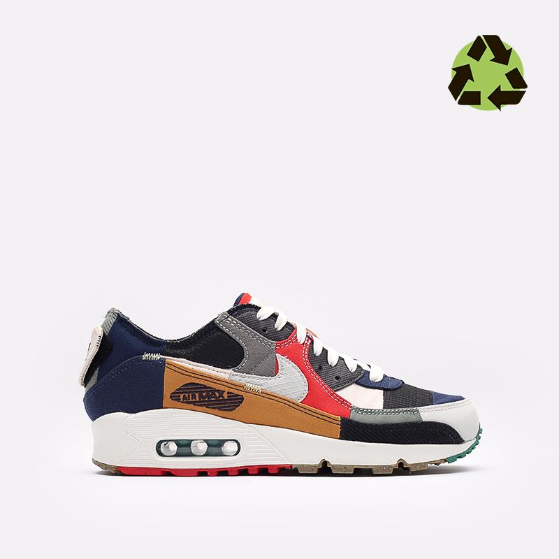 женские разноцветные кроссовки Nike WMNS Air Max 90 QS DJ4878-400 - цена, описание, фото 1