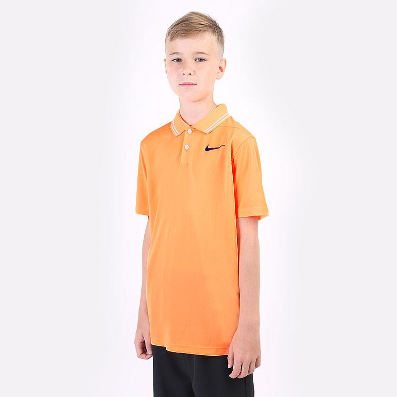 поло Nike Dri-FIT Victory Boys' Golf Polo BV0404-811 - цена, описание, фото 1