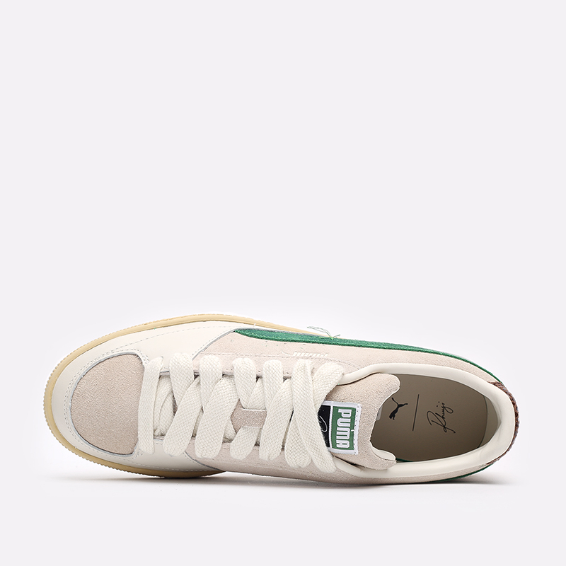 мужские бежевые кроссовки PUMA Suede x Rhuigi 38215501 - цена, описание, фото 6