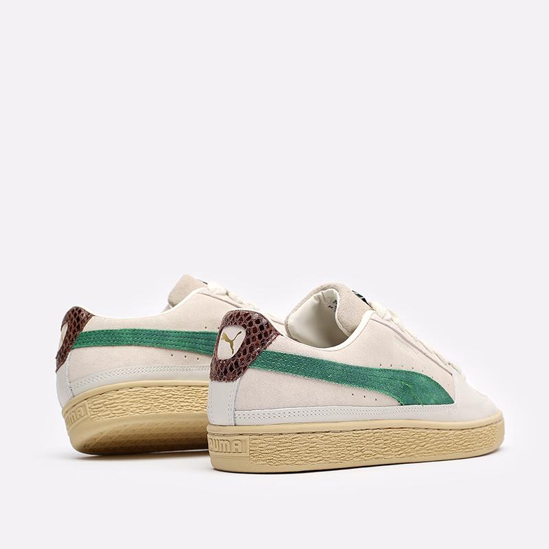мужские бежевые кроссовки PUMA Suede x Rhuigi 38215501 - цена, описание, фото 3