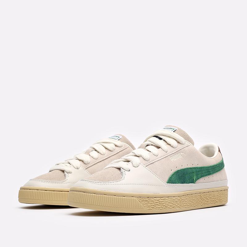 мужские бежевые кроссовки PUMA Suede x Rhuigi 38215501 - цена, описание, фото 4