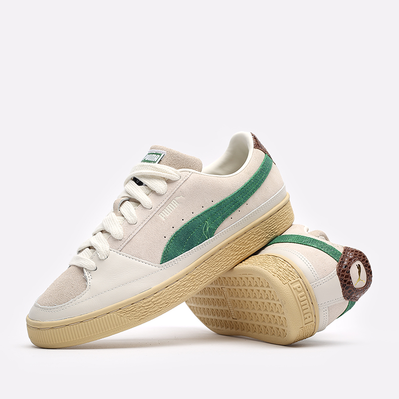 мужские бежевые кроссовки PUMA Suede x Rhuigi 38215501 - цена, описание, фото 7