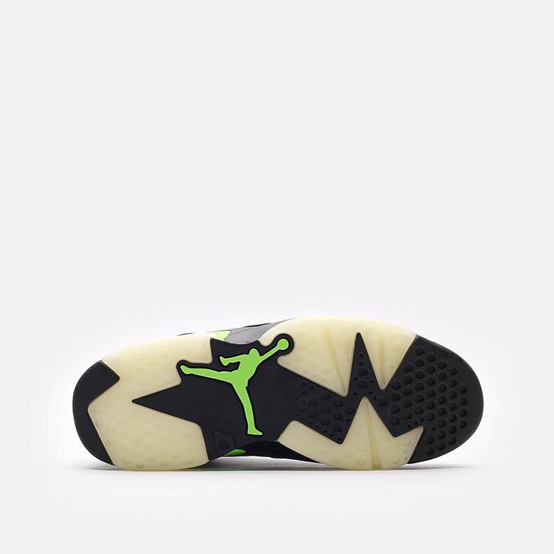 мужские чёрные  кроссовки jordan 6 retro CT8529-003 - цена, описание, фото 5