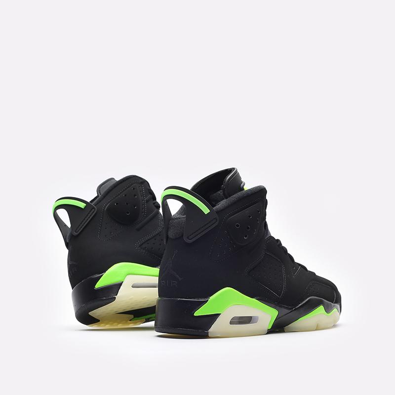 мужские чёрные  кроссовки jordan 6 retro CT8529-003 - цена, описание, фото 3