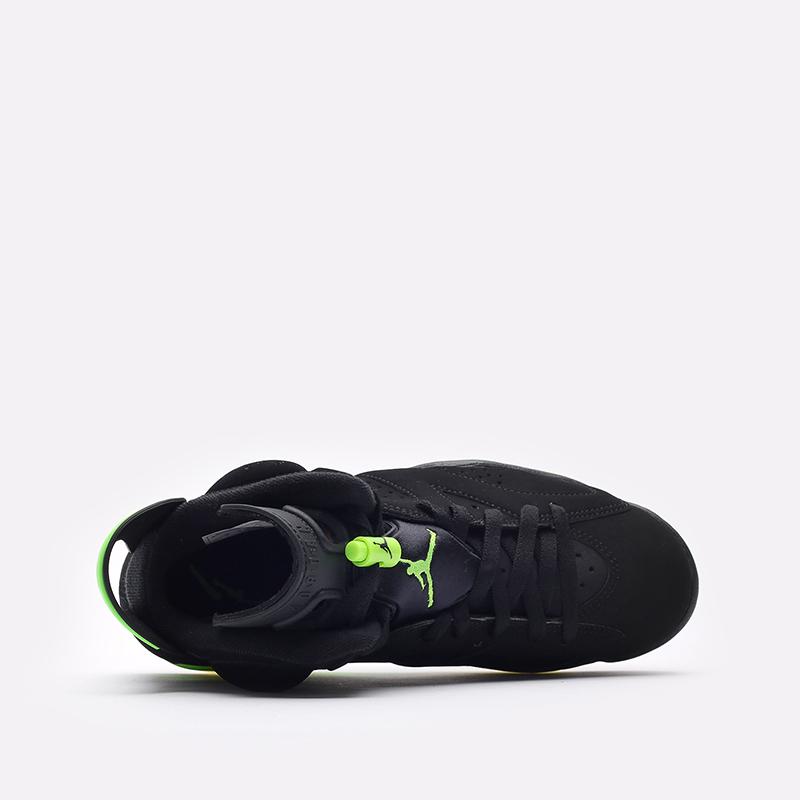 мужские чёрные  кроссовки jordan 6 retro CT8529-003 - цена, описание, фото 6
