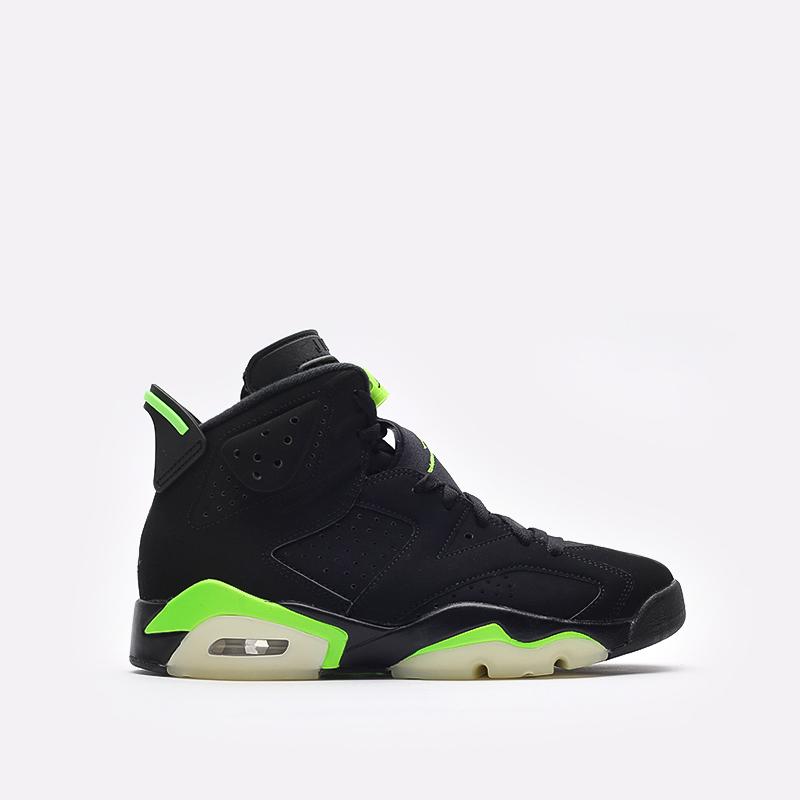 мужские чёрные  кроссовки jordan 6 retro CT8529-003 - цена, описание, фото 1