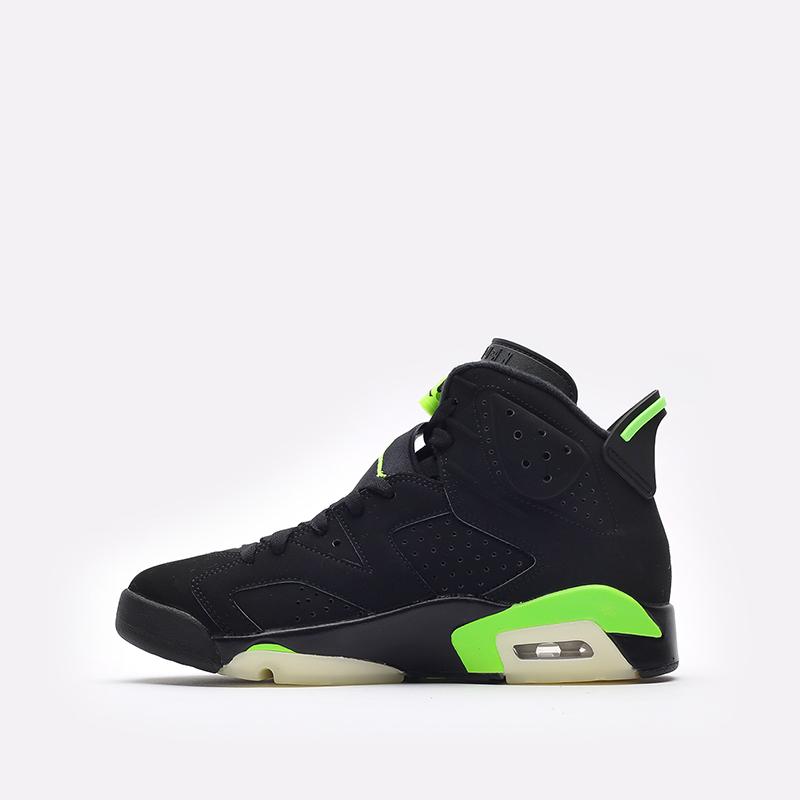 мужские чёрные  кроссовки jordan 6 retro CT8529-003 - цена, описание, фото 2