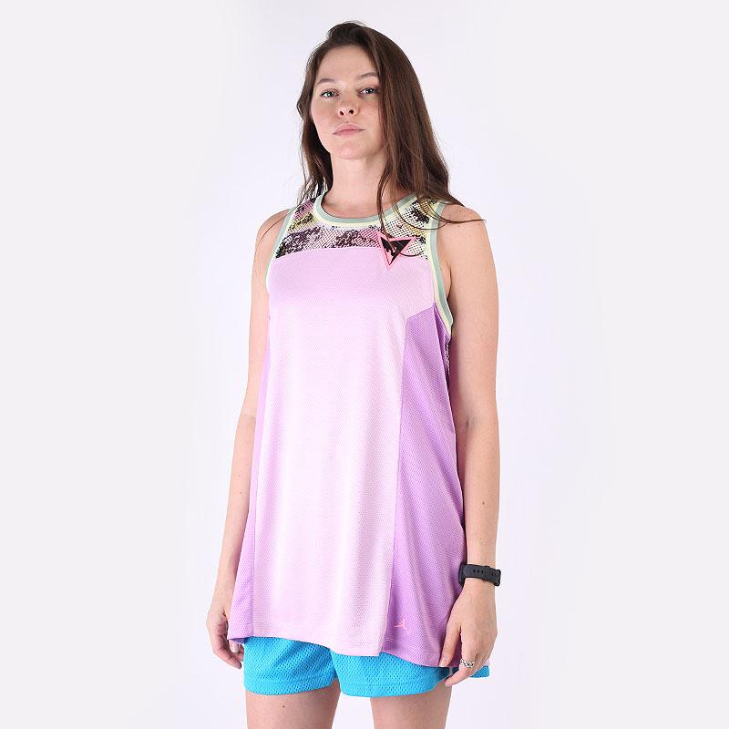 женскую розовую  майку jordan heatwave women's top DC2128-676 - цена, описание, фото 1
