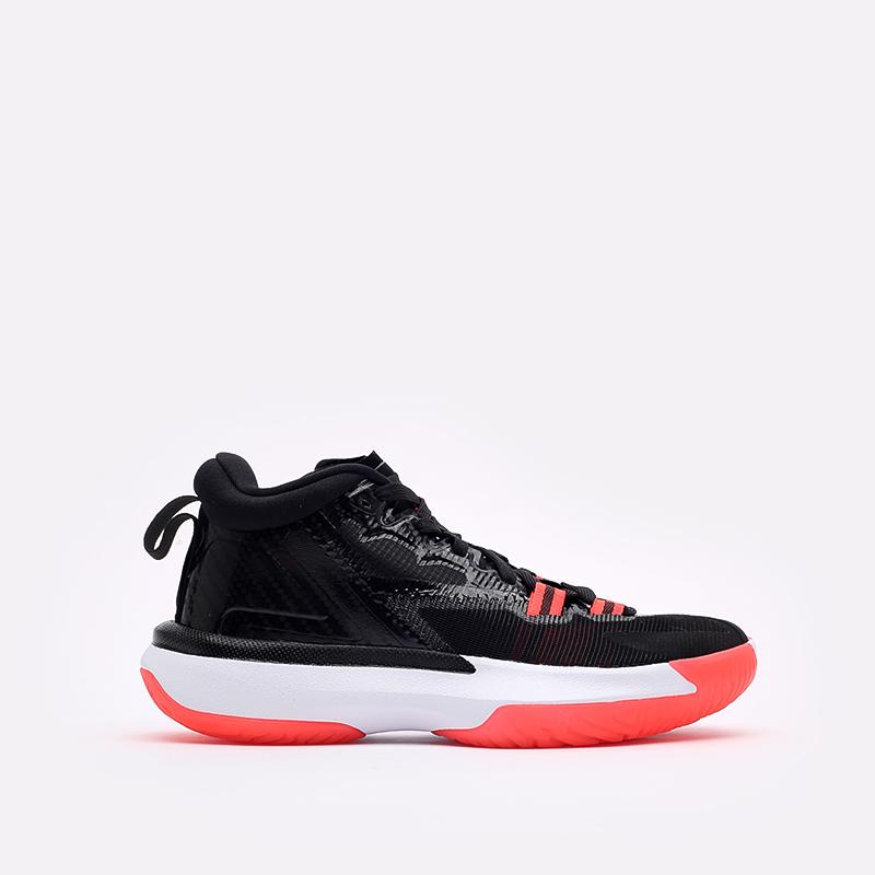 женские чёрные  кроссовки jordan zion 1 (gs) DA3131-006 - цена, описание, фото 1